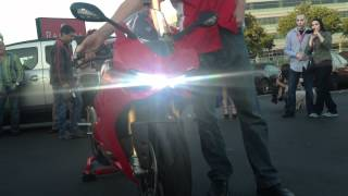 Ducati 1199 Panigale Unvailing With Engine Start and Termignoni Exhaust