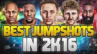 getlinkyoutube.com-Top 5 Best Jumpshots on NBA 2K16