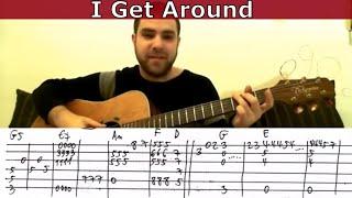 getlinkyoutube.com-Fingerstyle Tutorial: I Get Around - Guitar Lesson w/ TAB