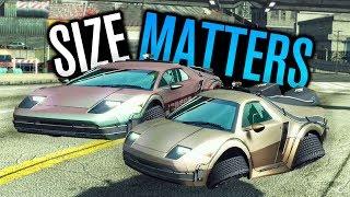 SIZE MATTERS: BIG VS TOY?!
