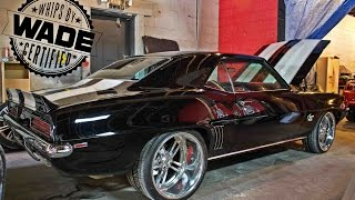 getlinkyoutube.com-1969 Chevrolet Camaro on 20x12 Billet Wheels packing a 572 Big Block