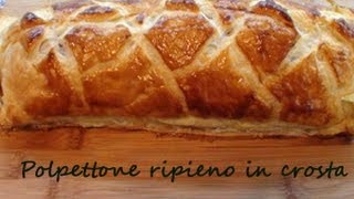 getlinkyoutube.com-Polpettone ripieno in crosta (video ricetta passo per passo)
