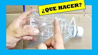 getlinkyoutube.com-Cómo Hacer una Lámpara Reciclando Botellas de Plástico - How to Recycle Plastic Bottles