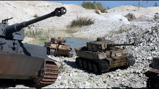 getlinkyoutube.com-RC TIGER Tanks (Heng Long) vs. Russian Tanks (Torro) RC-Battle (LONG PLAY)