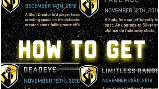 getlinkyoutube.com-NBA 2K16 | How To Get Deadeye, Shot Creator, Limitless Range and Fade Ace