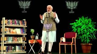 MODI JI ON RAHUL'S LIES ,HASSAN ALI  BLACK MONEY MEDIA 'S SILENCE ETC  Shri Narendra Modi addressing