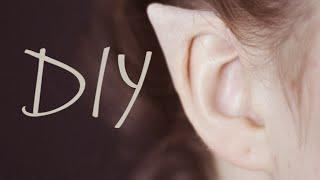 getlinkyoutube.com-DIY Elf Ears + How to Apply Them