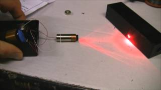 getlinkyoutube.com-Homemade 250mW Burning Red Laser