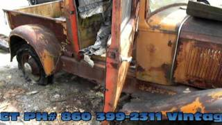 getlinkyoutube.com-1930 Ford model A truck part 1 from Vintage Motorcars LLC