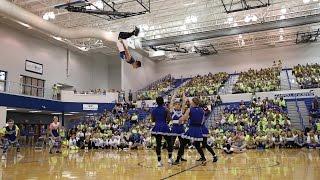 getlinkyoutube.com-2016  Carroll High School Powder Puff Cheerleaders Dances