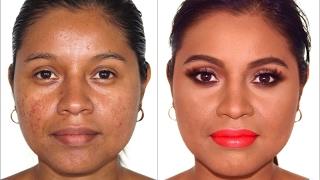 getlinkyoutube.com-Maquillaje Para Pieles con Acne Manchas y Cicatrices