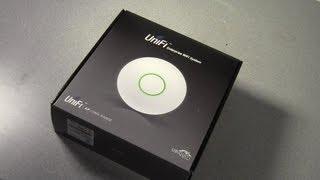 getlinkyoutube.com-Ubiquiti Unifi WiFi Access Point Unboxing and Setup