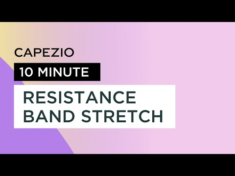 10 Minute At Home Stretch with Exercise Bands