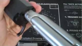Beretta 92FS with Silencerco Osprey 9mm silencer