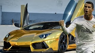 getlinkyoutube.com-NEW Another Top 15 Footballers Cars 2015 HD including Messi, Benzema and more!