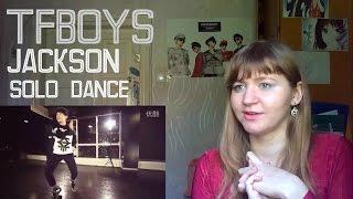 getlinkyoutube.com-TFBOYS (Jackson) - SOLO Dance |Dance Practice Reaction|