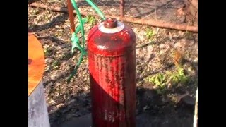getlinkyoutube.com-Безопасное вскрытие газового баллона