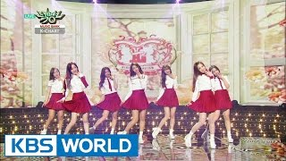getlinkyoutube.com-Lovelyz - Hi   러블리즈 - 안녕 [Music Bank K-Chart / 2015.03.27]