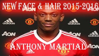 getlinkyoutube.com-NEW FACE & HAIR • ANTHONY MARTIAL • 2015/2016 [PES2013]