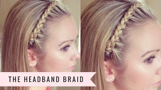 getlinkyoutube.com-The Headband Braid by SweetHearts Hair Design