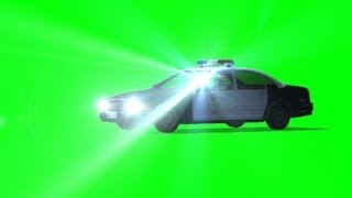 getlinkyoutube.com-police car observation with spotlight - green screen effect