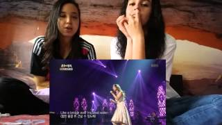 So Hyang - Bridge over troubled water  REACTION