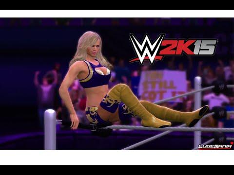 WWE 2K15 - DIVAS  Entrances