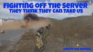 getlinkyoutube.com-Arma 3 Gameplay - Stratis Wasteland Airfield Defense HUGE ATTACK GDB