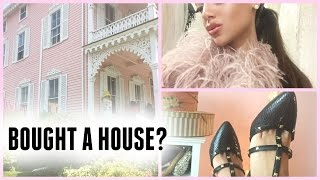 getlinkyoutube.com-DIY valentino heels, closet tour, & I BOUGHT A HOUSE?