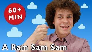 getlinkyoutube.com-A Ram Sam Sam and More | Nursery Rhymes from Mother Goose Club!