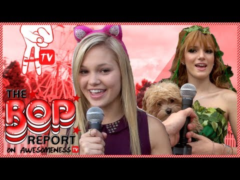 BOP Special Report: Bella Thorne and Olivia Holt at Camp Ronald McDonald Halloween Carnival