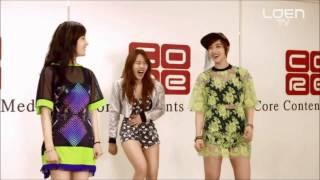 getlinkyoutube.com-T-ARA: Jiyeon Funny + Dance Practive Verse 1