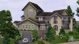 getlinkyoutube.com-The Sims 3 - Building a celebrity villa