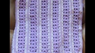 getlinkyoutube.com-Crochet : Manta de Bebé
