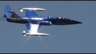 getlinkyoutube.com-The BEST F-104 demo EVER!!! Whistle sounds NO music or talking!