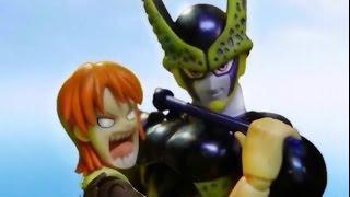 getlinkyoutube.com-One piece x Dragon ball - Episode 1 Cell capture Nami
