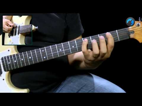 Como Formar uma Tétrades (aula técnica de guitarra)