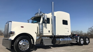 "getlinkyoutube.com-First Look 2018 Peterbilt 389 X15 Cummins 290"" 2050 Torque Platinum Interior Owner Operator"