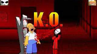 BBH MUGEN: Bosque Muerto hates Homer