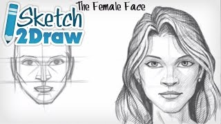 getlinkyoutube.com-How to Draw the Female Face
