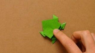 getlinkyoutube.com-簡単折り紙★ ぴょんぴょんカエルの折り方 ★|how to make an origami frog easy