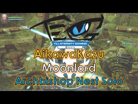 Dragon Nest SEA - Level 50 Moonlord 6200MATK w/ Brave - Archbishop Nest Solo ~!