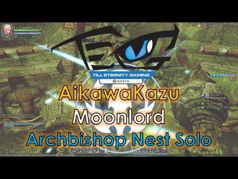 Dragon Nest SEA - Level 50 Moonlord 6200MATK w/ Brave - Archbishop Nest Solo ~!