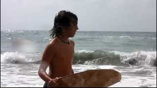 getlinkyoutube.com-Beach skimmer Speedo boy