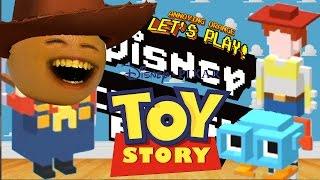 getlinkyoutube.com-Annoying Orange Plays - Disney Crossy Road #3: TOY STORY