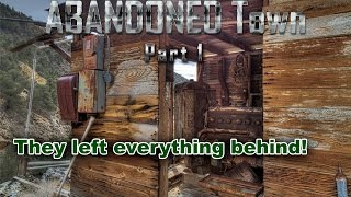 getlinkyoutube.com-ABANDONED Time Capsule UNTOUCHED For 10 Years | 1800's GHOST TOWN