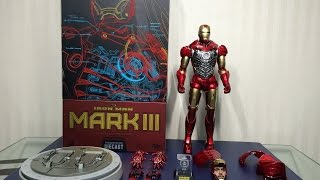 Mark 3 Diecast Iron Man by Hot Toys
