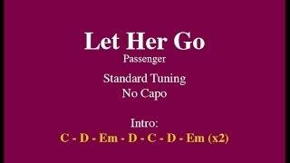 getlinkyoutube.com-Let Her Go - Easy Guitar (Chords and Lyrics)
