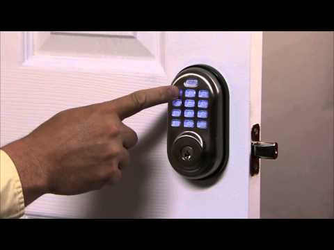 Yale Real Living Push Button Deadbolt Programming - One Touch Locking 06