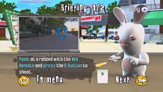 getlinkyoutube.com-Rayman Raving Rabbids 2 Gameplay!! *Shooting Game* HD